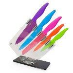 Colorful kitchen Knife block by Taylors of Sheffield