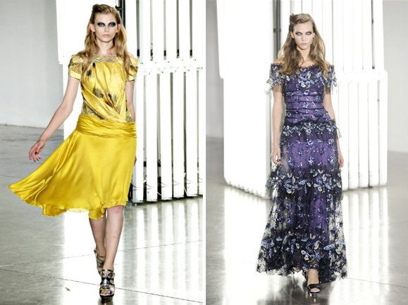 Beautiful COlored Rodarte Spring Summer 2012 Collection_1