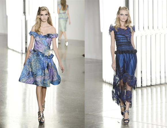 Beautiful COlored Rodarte Spring Summer 2012 Collection_2