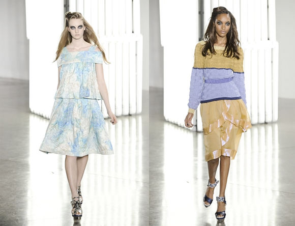 Beautiful COlored Rodarte Spring Summer 2012 Collection_5