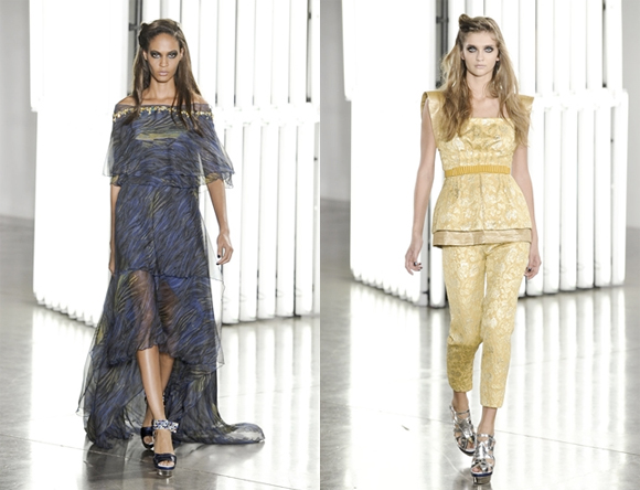 Beautiful COlored Rodarte Spring Summer 2012 Collection_6