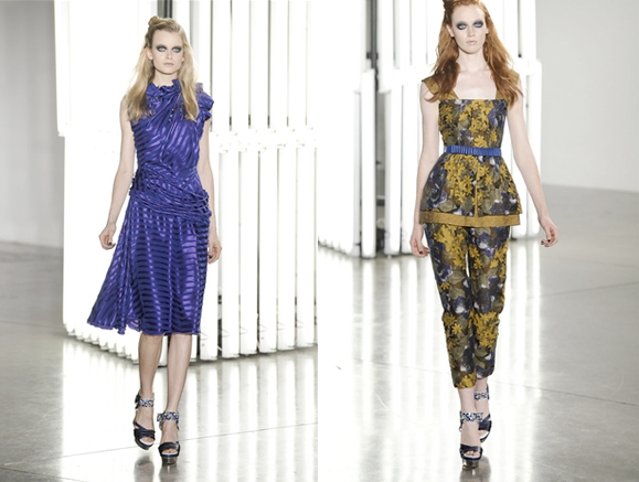 Beautiful COlored Rodarte Spring Summer 2012 Collection_8