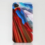 Colorful Illustrations of Superhero iPhone Case