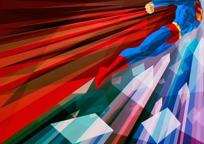 Colorful Illustrations of Superhero_1