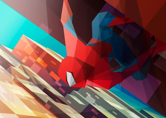 Colorful Illustrations of Superhero_2