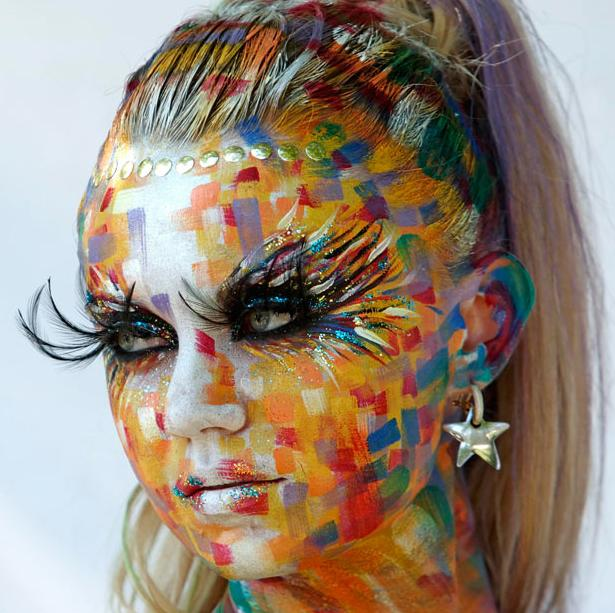 Colorful BodyPainting