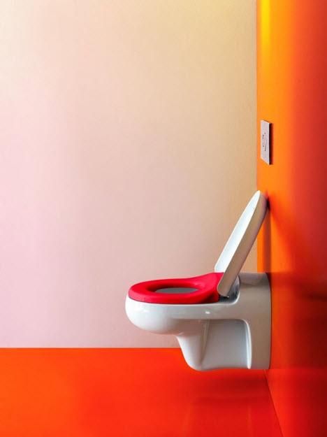 Colorful Kids Bathroom Decor by Laufen_3