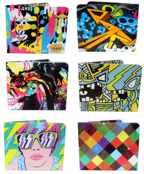 Colorful Paperwallets