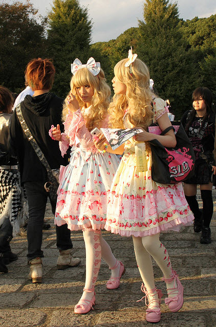 Extreme Colorful Harajuku Fashion Style