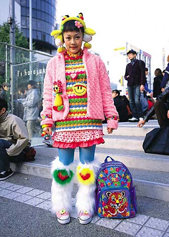 Extreme Colorful Harajuku Fashion Style_7