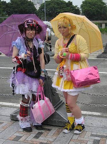 Extreme Colorful Harajuku Fashion Style_8