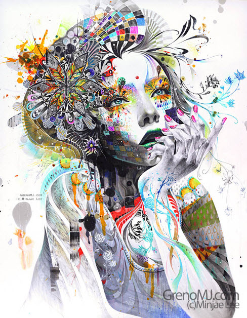 Wonderful Artwork by Minjae Lee