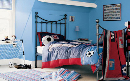 Colorful Boys Room Paint Idea's_10