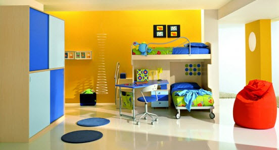Colorful Boys Room Paint Idea's_18