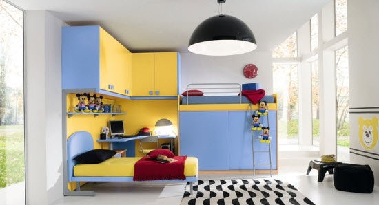 Colorful Boys Room Paint Idea's_19