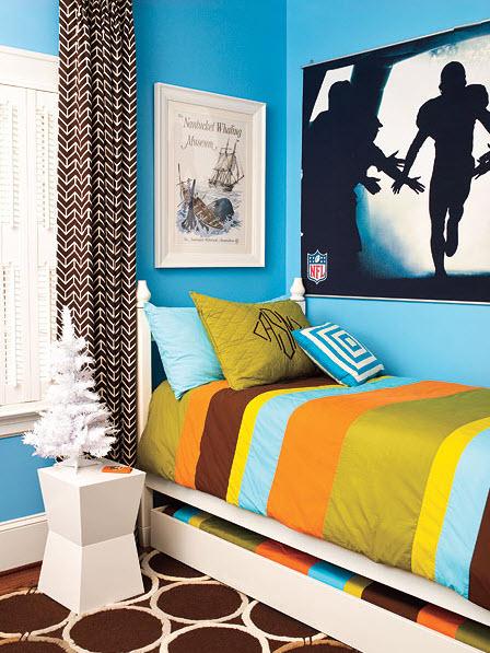 Colorful Boys Room Paint Idea's_2