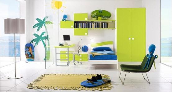 Colorful Boys Room Paint Idea's_23