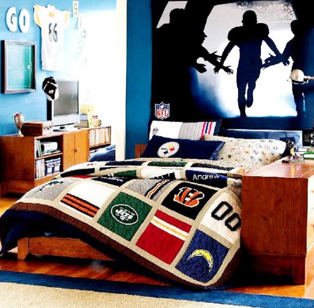 Colorful Boys Room Paint Idea's_3