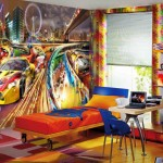 Colorful Boys Room Paint Idea's_4