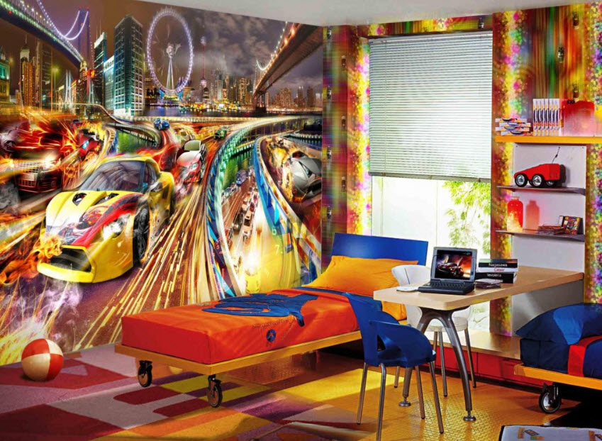 painting ideas for kids roomColorful Boys Room Paint Ideas4 at In Seven Colors  Colorful