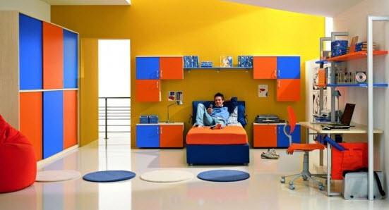 Colorful Boys Room Paint Idea's_9