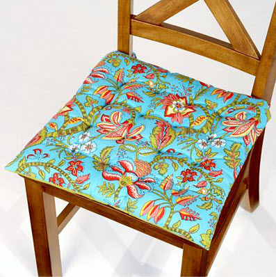 Colorful Dining Room Chair Cushions | In Seven Colors ...