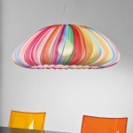 Colorful Fabric Pendant Lamp, Muse of Axo Light