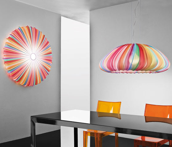 Colorful Fabric Pendant Lamp, Muse of Axo Light_1