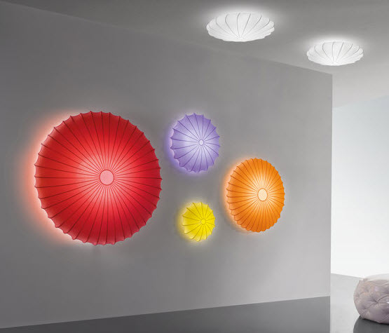 Colorful Fabric Pendant Lamp, Muse of Axo Light_2