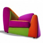 Colorful Kids Chairs by Adrenalina