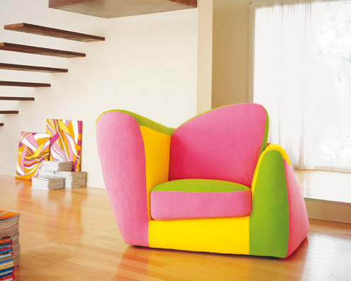 Colorful Kids Chairs by Adrenalina_2
