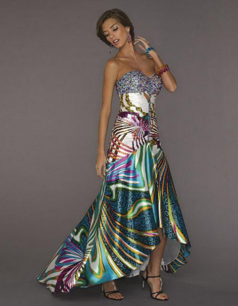 Multi Color Prom Dresses_1