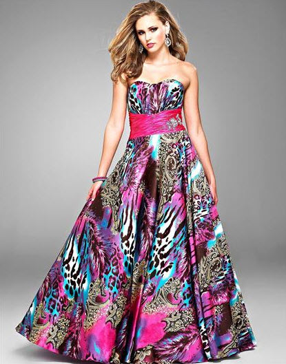 Multi Color Prom Dresses_2