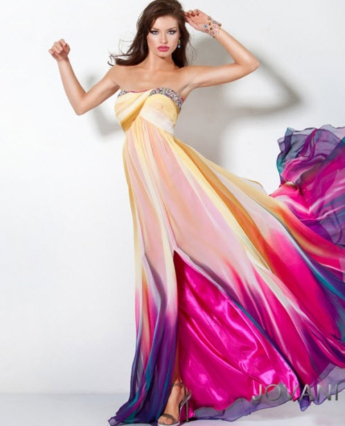 Multi Color Prom Dresses_4