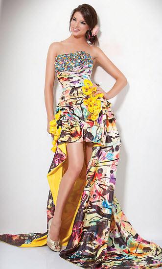 Multi Color Prom Dresses_5