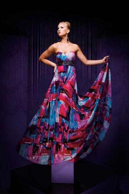 Multi Color Prom Dresses_6