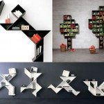 Wall Mounted Bookcase by Lago