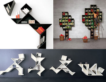 ... 20 Cool Wall Mounted Bookcases ...