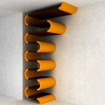 Wall Mounted Bookcase by Maria Yasko_2