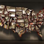Wall Mounted Bookcase by Ron Arad