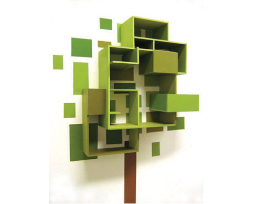 Wall Mounted Bookcase by thorunndesign
