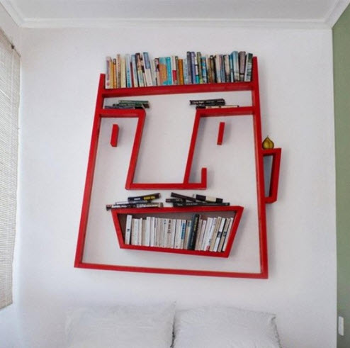 Wall Mounted Bookcase_2