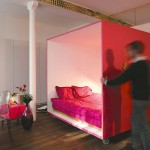 Mobile Bed Cube For A Studio Apartment_1