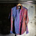 Nepenthes Loop Back Shirts with Bold and Vivid Stripes_3