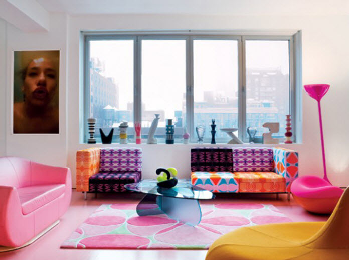 Colorful Furnitures for Small Apartment_1