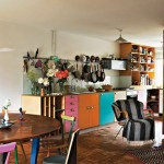 Colorful Furnitures for Small Apartment_14