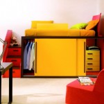 Colorful Furnitures for Small Apartment_4