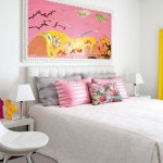 Colorful Furnitures for Small Apartment