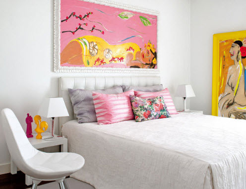 Colorful Furnitures for Small Apartment_8