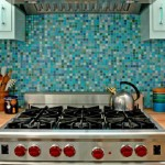 Colorful Kitchen Backsplash Pictures_17